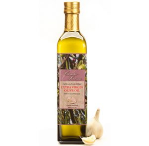 Cassata Sonoma Winery & Vineyard's specialty rosemary and basil flavored gourmet extra virgin olive oil.