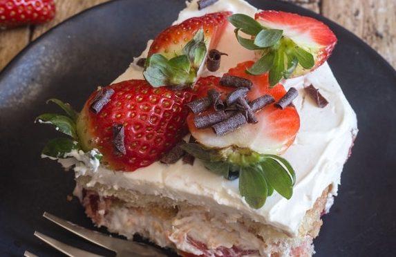 Strawberry Italian Tiramisu